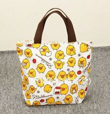 Rilakkuma san-x lots chick handbag tote lunch bag storage bags U264 anime ne