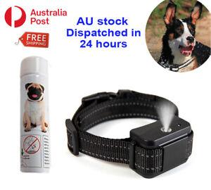 Dog Anti Bark Collar Citronella Spray Training Stop Barking Humane Rechargeable