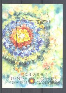 BELGIUM 2008 flower show MNH**  blok 152