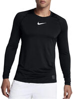 Nike Men's Pro Top Black/White Size Medium New
