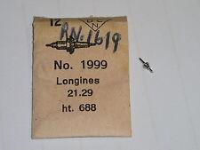 Longines balance staff 21.29  21.29S  21.30   axe de balancier / Unruhwelle