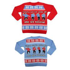 Kids Christmas Xmas Kiki Do you love me Jumper Boys Drake Sweater Girls Children