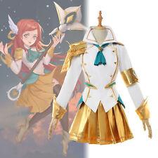 Liga de Leyendas batalla Academia Lux Prestige Juegos con disfraces Disfraz Uniforme set Completo Traje Vestido