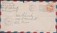 USA U.S.ARMY 636 Engr Cam Co APO 957, Censor 1942