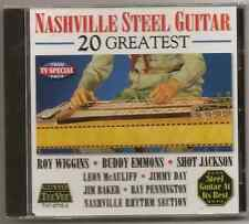 "NASHVILLE STEEL GUITAR, CD ""20 GREATEST"" NEW SEALED"