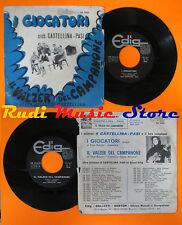 LP 45 7'' Castellina Pasi I Players the Waltz of Campanone Italy CD Mc DVD