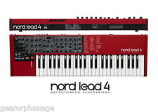 Nord Lead 4 Performance Synthesizer MINT DEMO Lead-4 Synth With Box and all