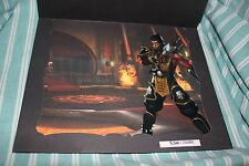 Mortal Kombat Deadly Alliance Art Cel Litho Hand-numbered 1 of 4 RARE Promo