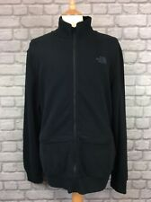 BNWT THE NORTH FACE MENS UK XL MOUNTAIN FULL ZIP BLACK TRACK TOP CASUAL