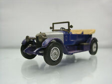 Diecast Lesney Matchbox 1914 Prince Henry Vauxhall No. Y-2 Blue Good Condition