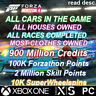Forza Horizon 4 ALL CARS IN THE GAME!, 100K Forzathon Points, 900 Million CR,