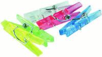 Mini-Wäscheklammern 30 Stück verschiedene Farben Mini-Clips 24435 von Stylex
