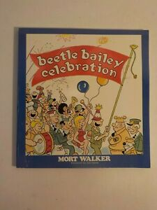 N Vintage 1989 Book Collected Comics: BEETLE BAILEY CELEBRATION By Mort Walker