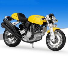 1:18 Maisto DUCATI SPORT 1000 Motorcycle Bike Model New In Box 39300 Yellow