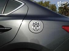New 3D Silver Transformers Optimus Prime Decepticon Autobot Car Sticker