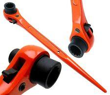 13 x 17mm Hi-Viz Ratchet Podger Spanner Steel Erecting Tool Podger Drift End