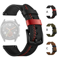 Replacement Genuine Leather Watch Band Wrist Strap For Huawei Watch GT 22mm US