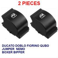 2x lève vitre Interrupteur Bouton porte poussoir Fiat Doblo 2, Ducato 3 Fiorino