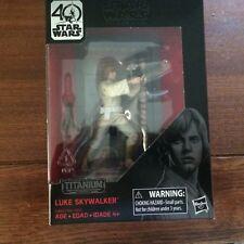 Star Wars Black Series 40th Anniversary Luke Skywalker Titanium Series