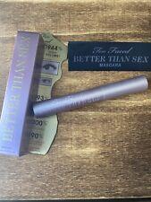 Too Faced Better Than Sex Mascara ~ 0.27 oz ~ Full Size Bnib ~ Same Day Usa Ship