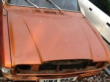 Austin allegro vandenplas bonnet good solid 1977