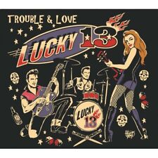 CD Lucky 13 - Trouble And Love -  2017 ALBUM new and sealed