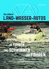 VW Volksamphi Land-Wasser-Autos Amphibienfahrzeuge Schwimmwagen Modelle Buch