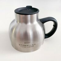 Vintage Starbucks Chubby The First Store Stainless Steel Coffee Mug Cup Tumbler