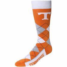 NCAA Tennessee Volunteers Vols Argyle Unisex Crew Cut Socks - One Size Fits Most