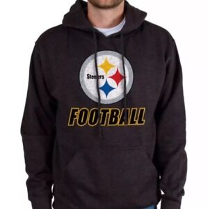 Pittsburgh Steelers Junk Food NFL Wing Formation Heather Charcoal XL Hoodie $60