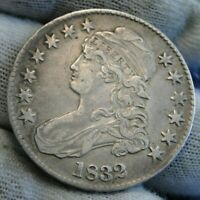 1832 Capped Bust Half Dollar 50 Cents - Nice Coin.. Free Shipping  (9683)