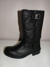 Damen Stiefelette Stiefel Gr. 42 schwarz Schuhe