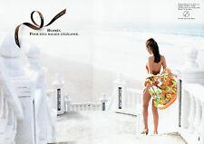Publicité Advertising 117  1996   Hermès (2p) chemise homme l maillot bain Mistr
