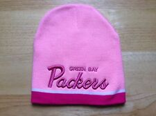 Green Bay Packers PINK Beanie Hat