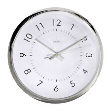 ACCTIM ORION Wall Clock, Sweep Wall Clock   12 Months Warranty