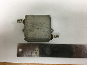 Industrial Cond. Corp. A-10542-A 10AMP 300VDC / 125 VAC