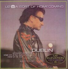 U2 A SORT OF HOMECOMING 2 CD RARE GOLD EDITION MINT LIVE SLANE CASTLE 2001