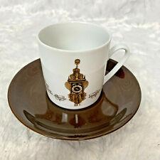 Mitterteich Porzellan Bavaria Klok Zaanseklok 3 Cup Saucer Vintage Rare Germany