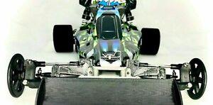 TRAXXAS Bandit Rigid Front End - RC Drag Racing Suspension Delete