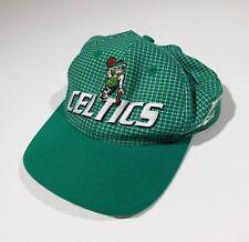 Rare Vintage Boston Celtics Basketball Baseball cap hat adjustable Wool & Acryli