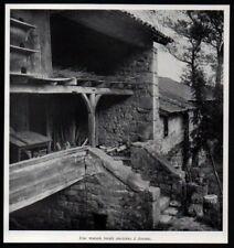 1957  --  UNE MAISON RURALE ANCIENNE A AVENAS   RHONE  3P537