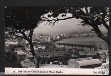 ANTIGUA POSTAL CEUTA DESDE EL MONTE HACHO OLD POSTCARD POSTKARTE         CC00868