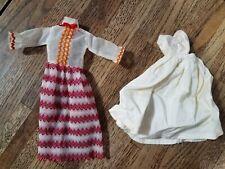 "Vintage ""Barbie"" Doll Size Dresses-2 Different Nr"