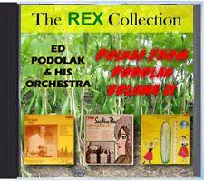 MZ 194 - Ed Podolak & His Orchestra - Polkas From Podolak Volume II - POLKA CD