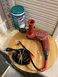 "Milwaukee 0234-1- 1/2"" Holeshooter Magnum Drill Hole Shooter Corded Keyed Chuck"