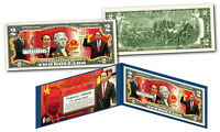 TRAN DAI QUANG * President of VIETNAM * OFFICIAL Colorized Genuine U.S. $2 Bill