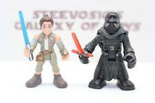 Playskool Heroes Star Wars Galactic Heroes  Rey Kylo Ren 2 Pack Last Jedi