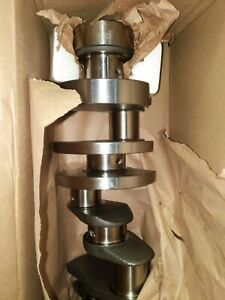 SCAT SB CHEVY  CRANKSHAFT 4-350-3875-6000 SBC  3.875 Stroke Forged STROKER