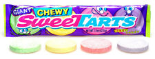 WONKA Giant Chewy SWEETARTS 42.5G, American Chewy Fruity Novelty Candy, 6 Packs