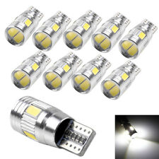 1x T10 5630 6-SMD Waterproof Red Auto LED Light CANBUS Error Free Side Lamp Bulb